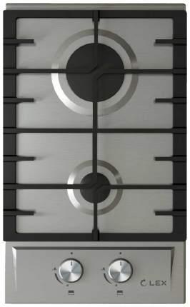 Встраиваемая варочная панель газовая LEX GVS 321 IX Silver