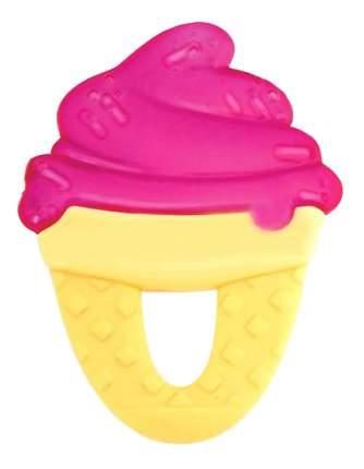 Прорезыватель детский охлаждающий Chicco Fresh Relax Мороженое (с 4 мес) красный