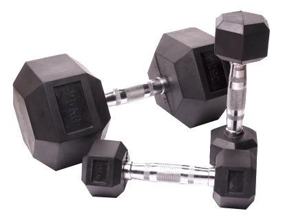 Гантельный ряд Body Solid D-05 от 2,5 до 25 кг