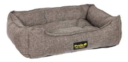 Лежанка для собак PRIDE 60x70x23см коричневый