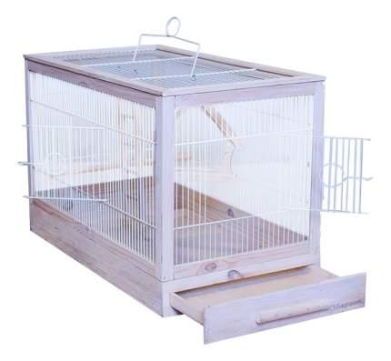 Клетка для птиц ZooM 56x30x35 8761бел