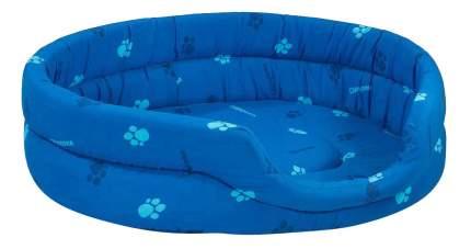 Лежанка для кошек и собак Дарэлл 42x53x16см синий