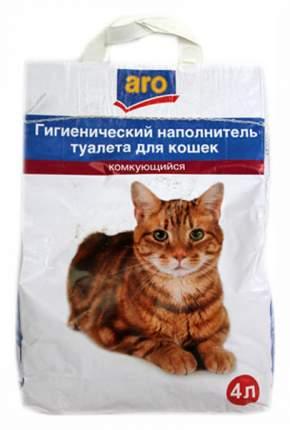 Комкующийся наполнитель для кошек Aro бентонитовый, 2.3 кг, 4 л