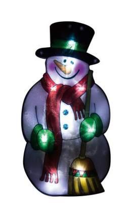 Световое панно ВОЛШЕБНАЯ СТРАНА Снеговик в шарфе 986104