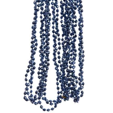 Kaemingk Бусы пластиковые Алмазная Россыпь 270 см синий бархат 001592