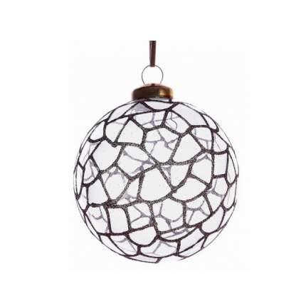 Набор стеклянных шаров Kaemingk Ледяная Мозаика 80 мм, 3 шт 069894