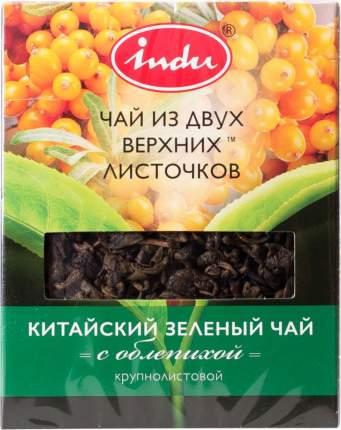 Чай зеленый Indu с облепихой крупнолистовой 90 г