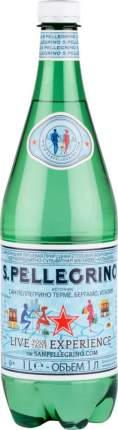 Вода минеральная S.Pellegrino газированная пластик 1 л