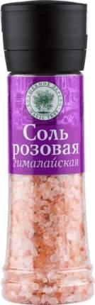 Соль розовая гималайская пищевая Волшебное дерево мельница 350 г