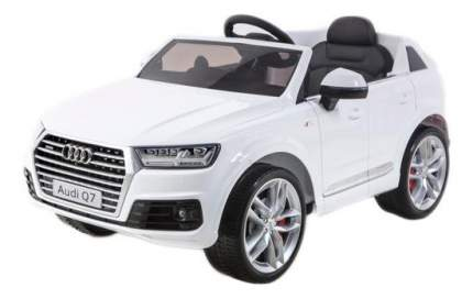 Электромобиль Audi Q7 Quattro белый RIVERTOYS