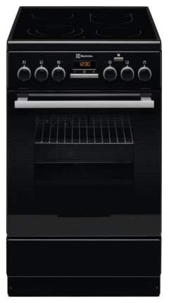 Электрическая плита Electrolux EKC954908K Black
