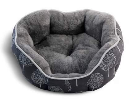 Лежанка для собак Triol 40x45x16см серый