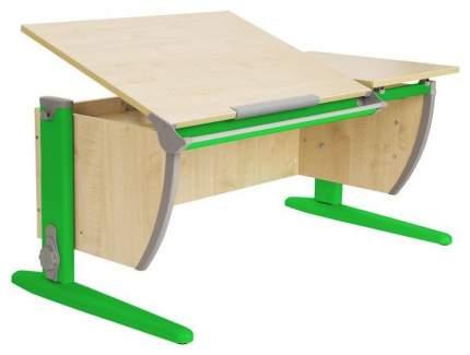 Парта Дэми СУТ 17-01Д с задней и двухъярусной задней приставками Клен Зеленый 120 см