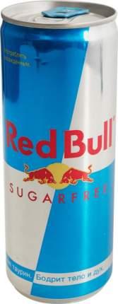 Напиток энергетический Red Bull без сахара жестяная банка 0.25 л