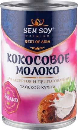 Кокосовое молоко Sen Soy premium 5-7% 400 г