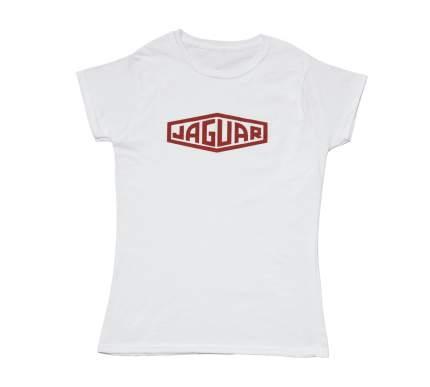 Женская футболка Jaguar Woman's Heritage T-Shirt, артикул JTS2593WH