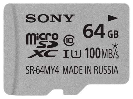 Карта памяти Sony Micro SDHC UHS-I SR-64MY4A 64GB