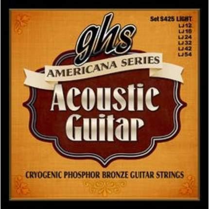 Струны для акустической гитары GHS S 425