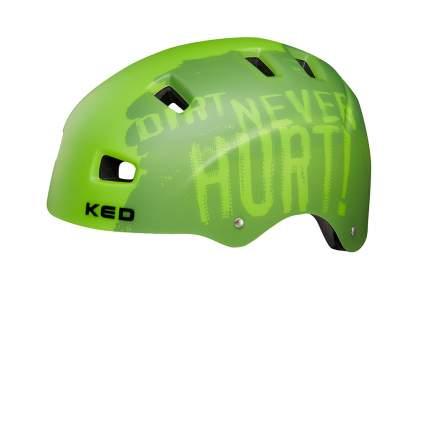 Шлем детский KED 5Forty Dirt Green M