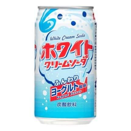 Лимонад  Томинага крем-сода со вкусом йогурта газированный жестяная банка 350 г