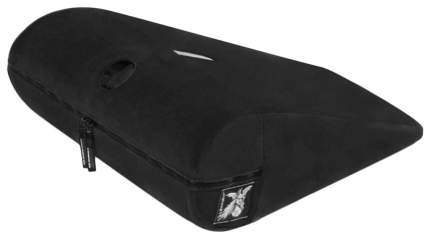 Чёрная малая подушка для любви Liberator R-Axis Magic Wand с отверстием под массажёр