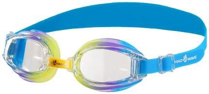 Очки для плавания детские Mad Wave Coaster kids, Синий/Зеленый