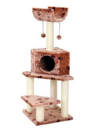Комплекс для кошек Fauna International BELLA, коричневая/лапки