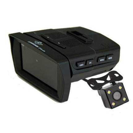 Видеорегистратор с радар-детектором Subini Stonelock MERU