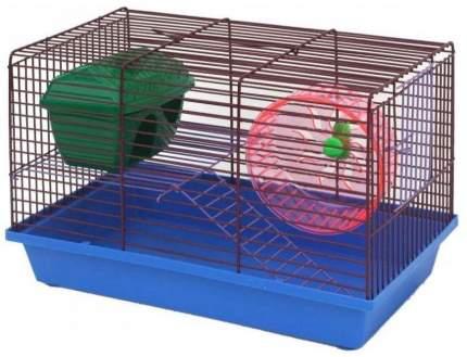 Клетка для грызунов ZooMark, двухэтажная, в ассортименте, 27х24х36 м