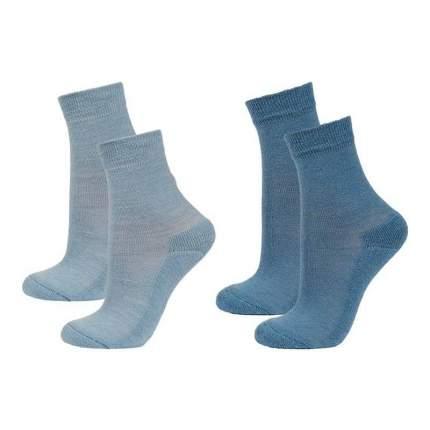Носки детские 2 пары Janus, цв. голубой р.16-18