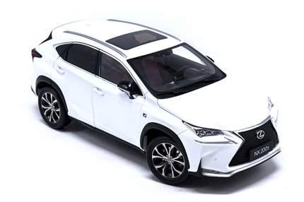 Масштабная модель Lexus NX 200T LMNX00010L Scale 1:43 White