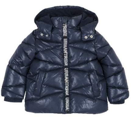 Куртка-пуховик Chicco для мальчиков р.128 цв.темно-синий
