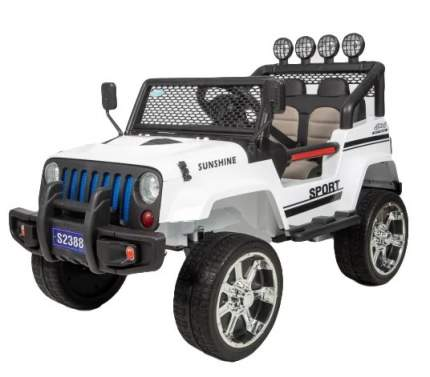 Детский электромобиль Barty Jeep S2388 4WD, Белый