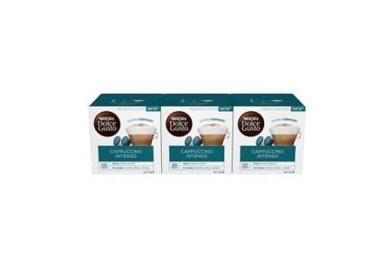 Кофе в капсулах  Nescafe Dolce Gusto Капучино Интенсо 3 штуки по 16 капсул