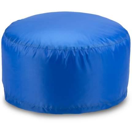 Бескаркасный пуф-таблетка ПуффБери Таблетка XL, оксфорд, Синий