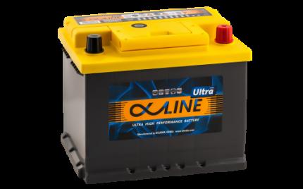 Аккумулятор ALPHALINE Ultra 56800 U PR 12В 68Ач 680CCA 242x175x190 мм Обратная (-+)