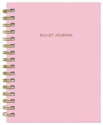 Творческий блокнот Бомбора Bullet Journal Розовый