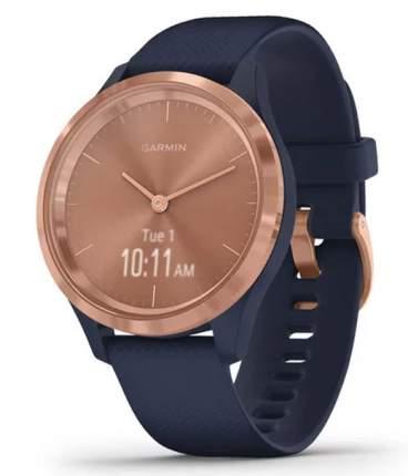 Спортивные наручные часы Garmin Vivomove 3S Rose Gold/Navy