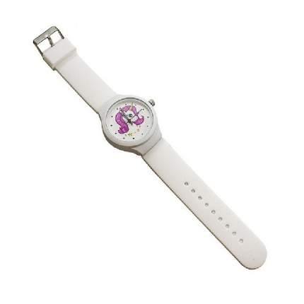 """Часы наручные """"Единорог N 3"""", цвет: белый"""