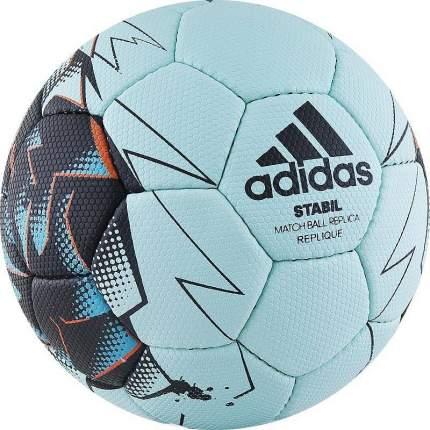 Мяч гандбольный Adidas Stabil Replique 2017, 1, голубой