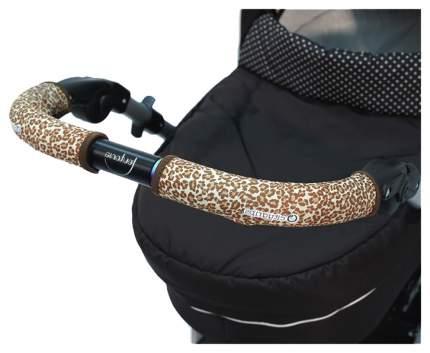 Чехлы Choopie CityGrips  на ручку для универсальной коляски длинные 511/9341 Brown Leopard