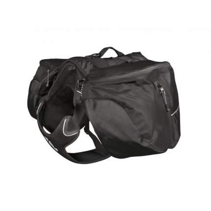 Рюкзак-сумка Hurtta Outdoors Trail Pack черный на собаку (M, Черный)