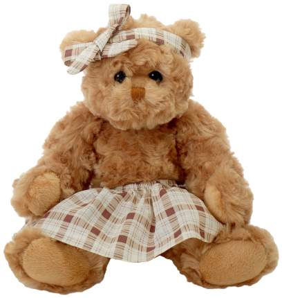 Мягкая игрушка «Медведица» в юбке с бантом, 30 см, цвет Lapkin