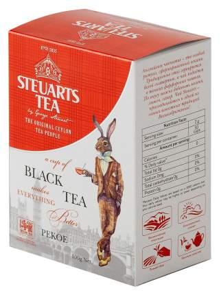 Чай черный листовой Steuarts black tea pekoe 100 г