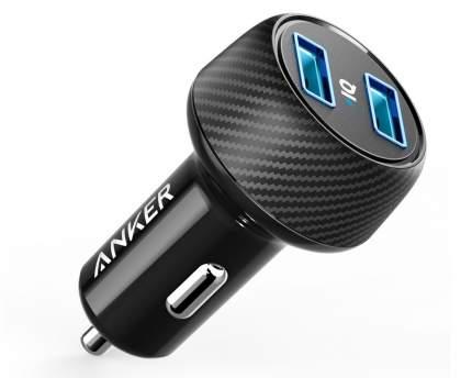 Автомобильная зарядка Anker PowerDrive 2 Elite черный