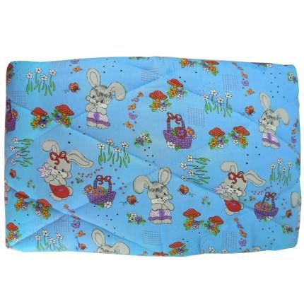 Одеяло стеганое Папитто шерсть 110*140 Голубой 0009