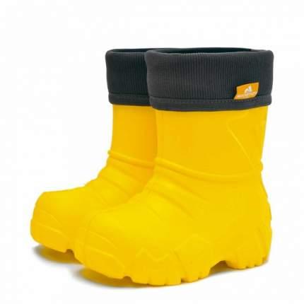 Сапоги Nordman Kids 229111-06 демисезонные желтые, размерм 24-25