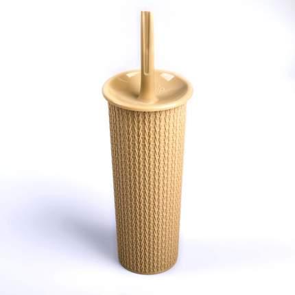 Комплект WC ажурное плетение AJUR Айвори/Слоновая кость