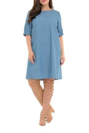 Платье женское SVESTA R604DEN голубое 64 RU
