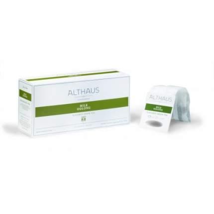 Чай зеленый в пакетах для чайника Althaus молочный улун 20*4 г